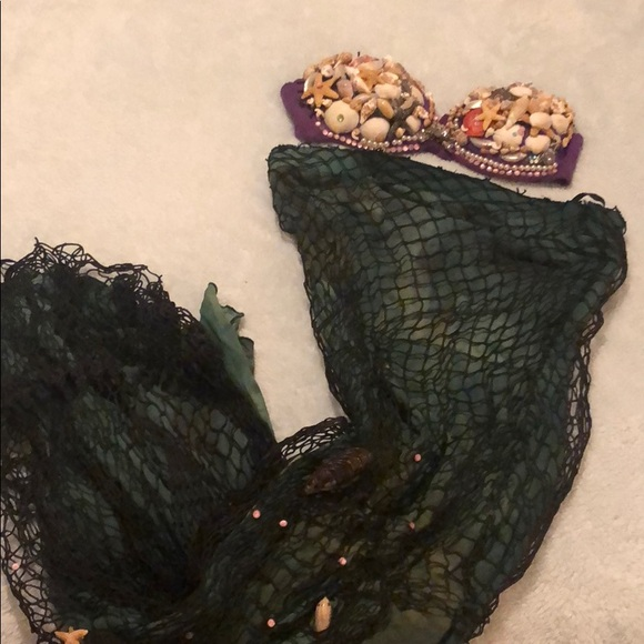 Other - Custom made Mermaid costume 34b bra tail small